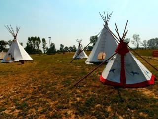 Zieleniewo Atrakcja Park rozrywki Wioska Indiańska