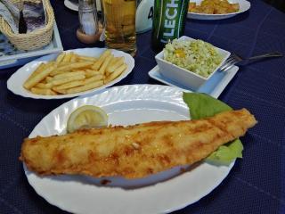 Kołobrzeg Restauracja Smażalnia ryb polska ryby i owoce morza Pirania