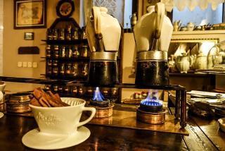 Kołobrzeg Restauracja Kawiarnia | cukiernia desery Pożegnanie z Afryką