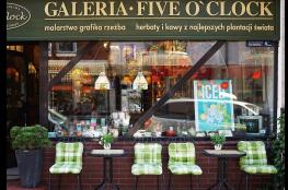Kołobrzeg Restauracja Kawiarnia | cukiernia Galeria Five 'clock Kołobrzeg